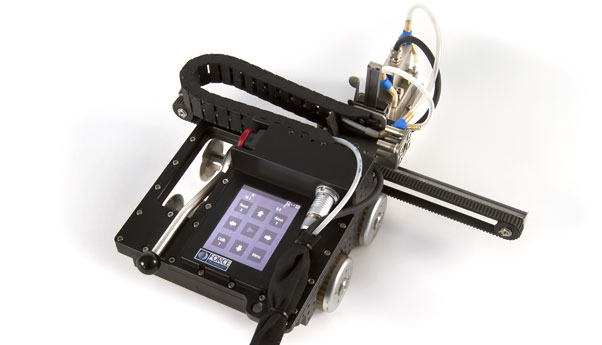 P-scan AUS-5 scanner - Automated Ultrasonic Inspection