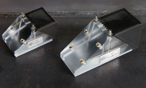 Phased array probes and wedges holders