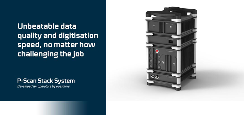 P-scan Stack System - Automated Ultrasonic Inspection